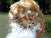 esküvői frizura, alkalmi frizura